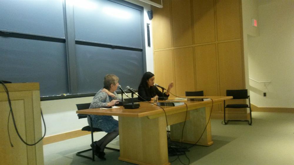 """Egypt Between Fact and Fiction"" Yasmine El Rashidi and Lynne Fagles."