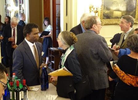 Annual Dinner & Recital celebrating the acquistion of Orlando di Lasso Motet Partbooks. Reception