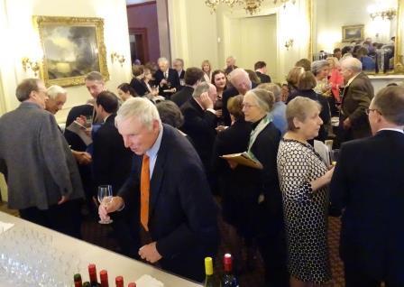 Annual Dinner & Recital celebrating the acquistion of Orlando di Lasso Motet Partbooks. Reception.