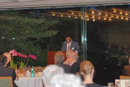 Annual Dinner & Recital celebrating the acquistion of Orlando di Lasso Motet Partbooks. P. Randolph Hill, Chair, FPUL.